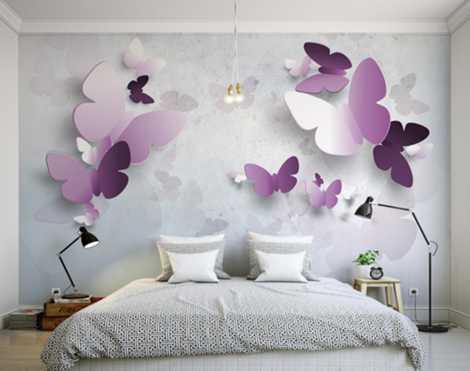 3D Butterfly 6169 Wallpaper Murals Wall Print Wallpaper Mural AJ WALL UK Kyra