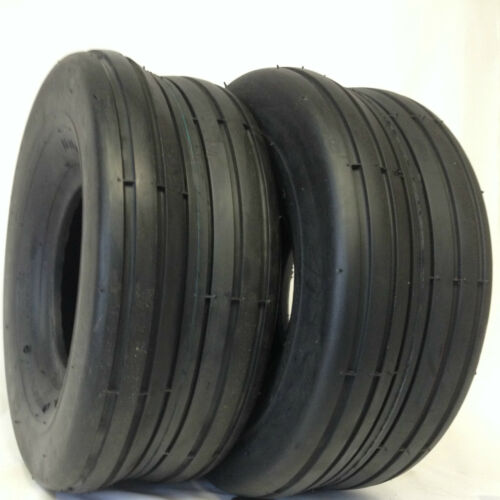 15-6.00x6 HEAVY DUTY Lawnmower Rib Tread 4 ply Tires TWO 15X6.00-6
