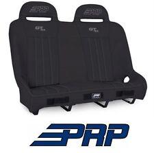 PRP Suspension Rear Bench Seat - Black / Black 14-17 Polaris RZR XP 1000 & Turbo