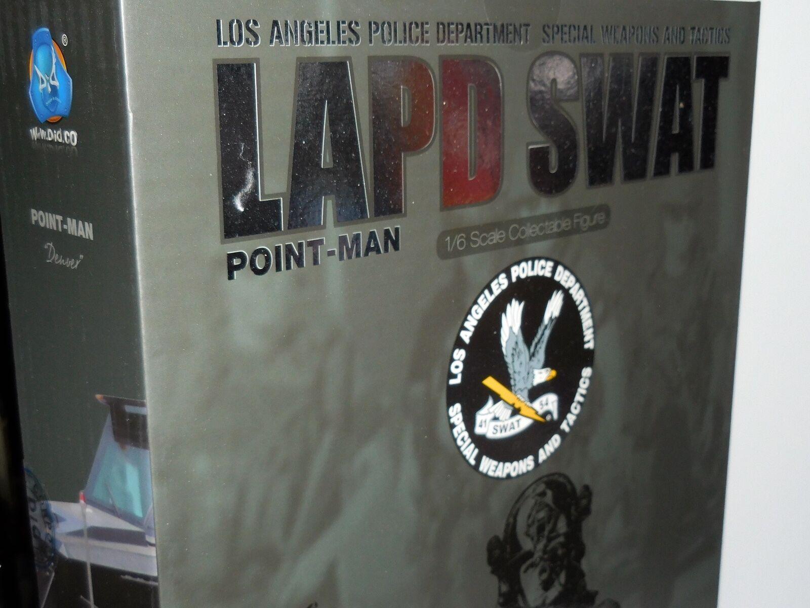DID LAPD SWAT POINT MAN DENVER BOX FIGURE 1/6 ACTION FIGURE TOYS