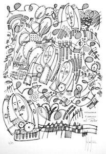 Grafica numerata firmata a mano, Stefano Fiore (litografia, stampa, serigrafia)