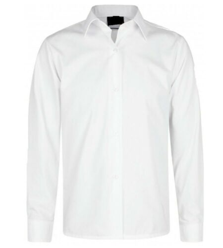 Girls School Uniform Blouse Shirt Single Pack White Sky Blue Long Short Sleeves