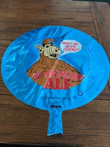 ALF TV Show LOT OF 2 Vintage 1987 Mylar balloons