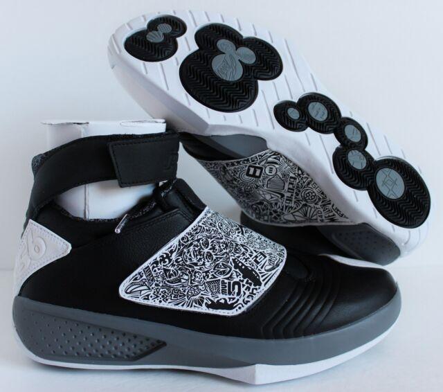 best service 6ae46 090d9 Nike Air Jordan XX 20 black-White-Cool Grey SZ 10.5  310455-