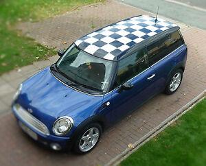 BMW Mini Clubman Roof Decals Kit Mini Cooper Racing Vinyl - Bmw mini roof decals