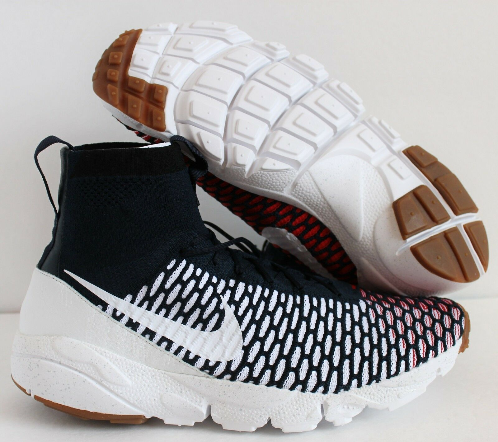 Nike Air Footscape Magista SP USA Dark Obsidian-White Price reduction Cheap women's shoes women's shoes