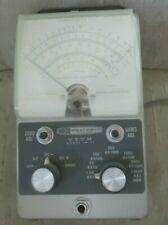 Vintage Heathkit Vtvm Im 11 Vacuum Tube Voltmeter Powers On