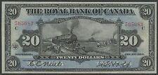 "CANADA #630-12-12 $20 ROYAL BANK OF CANADA 1913 ""TRAIN"" NOTE XF WLM3014"