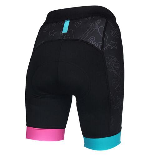 Ladies Cycling Tights Shorts MTB Bike Bicycle Underwear 3D Gel Padded M-XXL