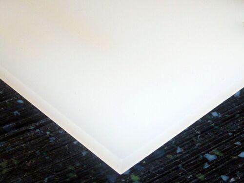 "5 PACK 1//4/"" Transparent White Acrylic Plexiglas Sheet 8/""x10/"" CLEARANCE AZM"
