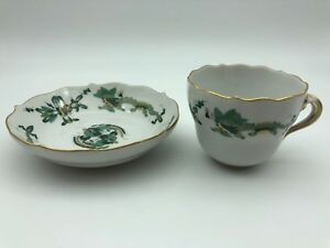 MEISSEN-Place-Setting-Cup-And-Teller-Drachenmuster-1-Choice-Top-Condition