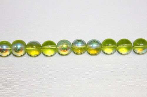 Round in Wide Range of Colors Glass Beads 12 mm 5 Strands 165 Beads