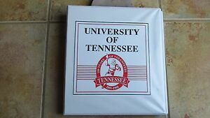 Tennessee Vols 100 Years of Volunteers Football 1990 full set in binder (RARE)