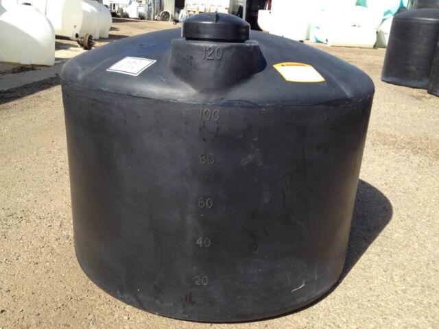 210gallon Poly Plastic Low Profile Tank Norwesco 210 Gallon Model# N40300 Used