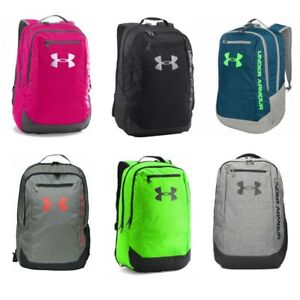 3a42d8c4b Image is loading UNDER-ARMOUR-Hustle-Backpack-Rucksack-School-Gym-Bag-