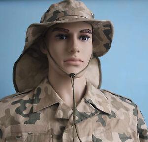 5f712c75603f9 Image is loading Polish-Army-camouflaged-BOONIE-HAT-Poland-ARMY-uniform-