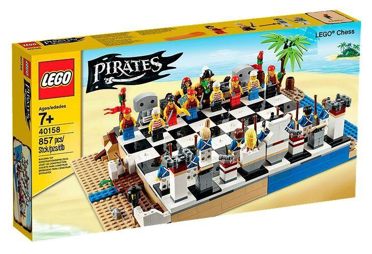 Lego ® Pirates 40158 Pirates-Jeu  d'échecs NEUF neuf dans sa boîte _ Chess Set nouveau En parfait état, dans sa boîte scellée Boîte d'origine jamais ouverte  designer en ligne