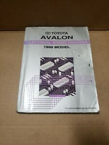 1999 Toyota Avalon Shop Service Electrical Wiring Diagram ...