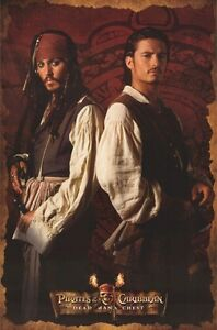 PIRATES OF CARIBBEAN 2 ~ DEAD MAN'S CHEST JACK & WILL BACK