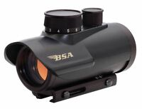 Bsa Optics Rd30 Red Dot Sight 30mm 5 Moa Dot Matte 1/2 Moa Picatinny Mount Black on sale