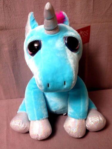 """Little Peeper/'s By Russ /""""Big Eyes/"""" Unicorn Blue /""""TWINKLE/"""" Large  Super Cute NEW"""