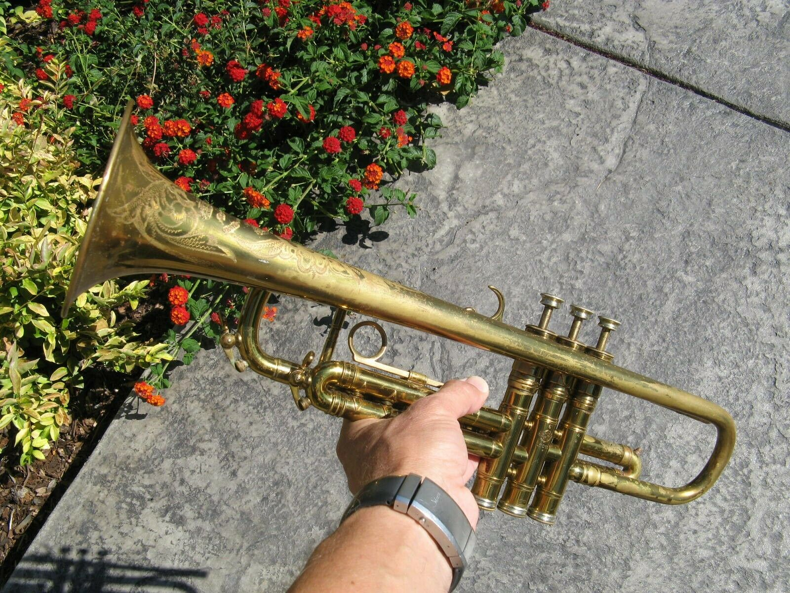 Beautiful Vintage 1956 Henri Selmer Paris Model 25 Trumpet