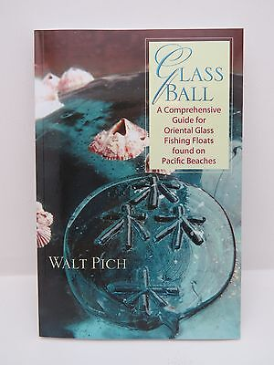 4 BOOKS by Walt Pich JAPANESE GLASS FLOATS AND BEACHCOMBING BOOKS