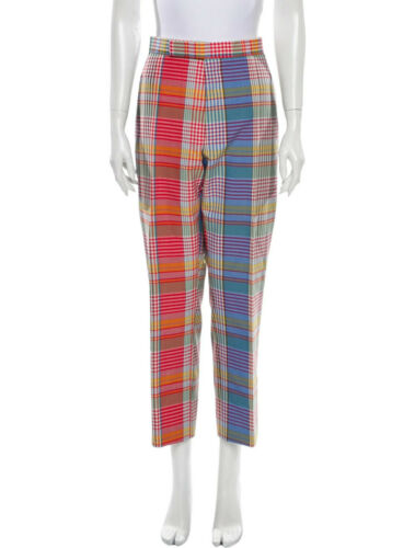 Thom Browne Classic Trousers in Multicolour Plaid