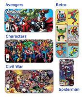 Avengers Marvel superheroes spiderman hard back phone case iphone 5 6 SE M8 S4