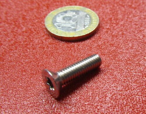 "50 pcs 18-8 Stainless Torx Flat Head Machine Screw 10-32 x 3//4/"" Length"