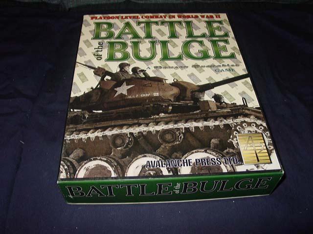 Lawine presse - zur ardennenoffensive spiel panzer - grenadier - spiel - (unpunched)