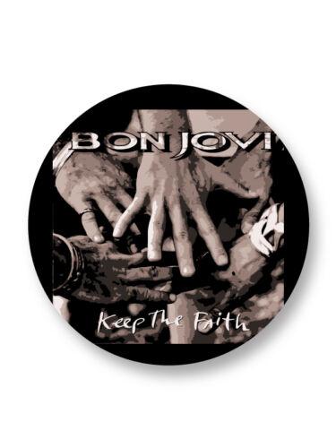 Magnet Aimant Frigo Ø38mm Jon Bon Jovi Hard Rock US