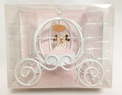 Mickey Mouse and Minnie Mouse wedding ring pillow Disney Resort limited Japan
