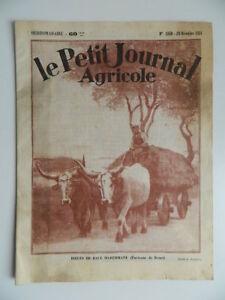 Revista-Semanal-El-Petit-Journal-Granja-Carne-Maremane-N-1850-Diciembre-1931