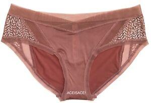 825905536c NWT  Victoria s Secret Body by Victoria FLORAL LACE   MESH HIPHUGGER ...