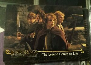 Lord Of The Rings Fellowship Of The Ring 2001 Topps Promo Card P2 Ebay