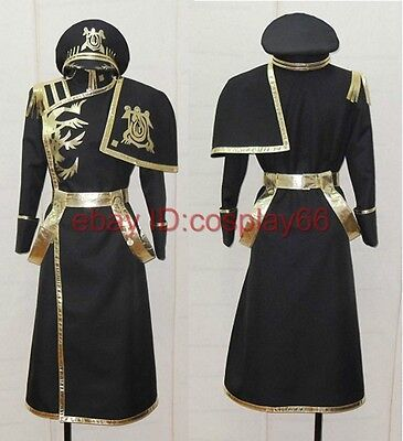 Ghost Ayanami Anime Uniform Cosplay Costume Any Size