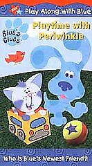 Blues Clues - Playtime With Periwinkle (VHS, 2001) for ...