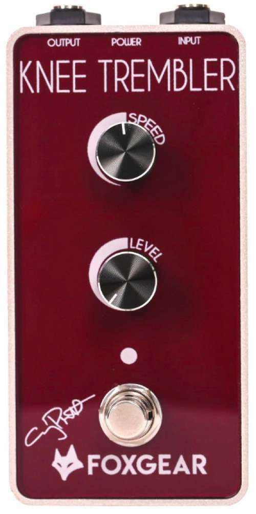 FOXGEAR KNEE TREMBLER Bass Guitar Effect Pedal Tremolo Guitare Guy Pratt