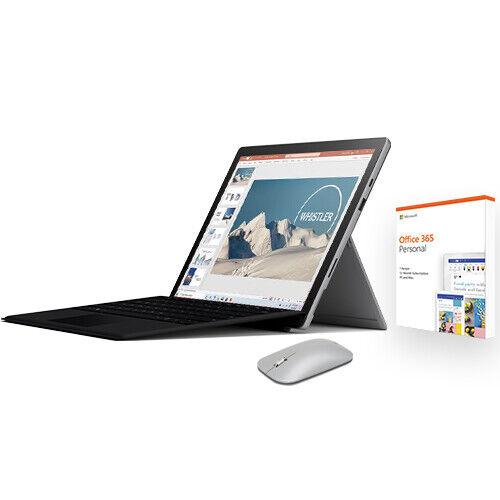Microsoft 微软 Surface Pro 7 12.3寸 平板电脑( i5、8G、128G)+黑色键盘盖+鼠标