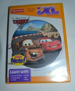 FISHER-PRICE-iXL-DISNEY-PIXAR-CARS-2-AGES-3-7-YEARS-FREE-SHIPPING