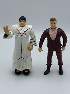 Customized-Playmates-Star-Trek-Voyage-Home-Kirk-amp-Spock-in-Ritual-Vulcan-Robe