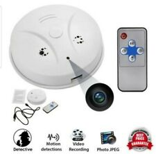 HD 1080P WiFi SPY Hidden IP Camera Nanny Cam Smoke Detector Motion Detection DVR
