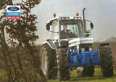 FOLLETO de cartel vintage Ford 7000 Tractor Cubierta prospecto impresión rara A3