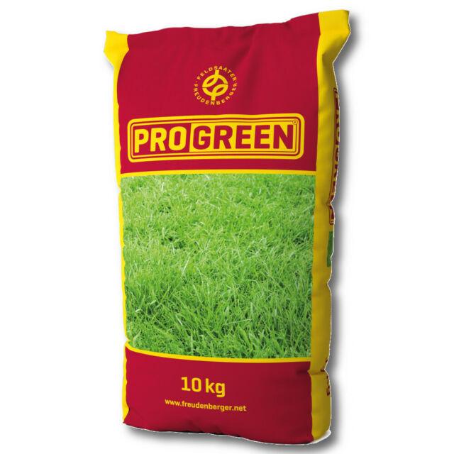 ProGreen® 10 Wieseneinsaat Trockenstandorte mit Klee 10 kg Grassamen Weidesamen