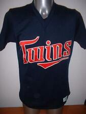 "MINNESOTA Twins MAJESTIC Jersey Camicia adulto M 40 ""Baseball Ufficiale Vintage MLB"