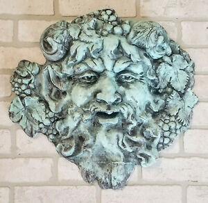 Dionysus Bacchus Wall Plaque Greek Roman Wine God Mythical Art