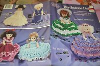 Birthstone Dolls Vol 1 Jan-jun Doll Clothing Crochet Pattern Asn