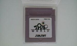 Hyper-rare-amp-tres-recherche-jeu-Nintendo-Game-Boy-Trip-World-repro-NEUF-gameboy