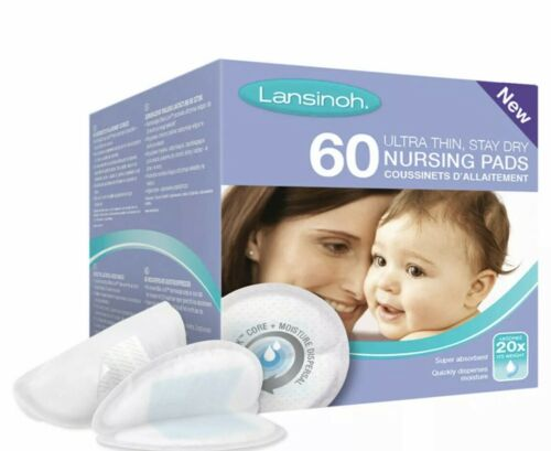 Lansinoh 60 Disposable Nursing Pads